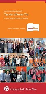 Tag der offenen Tür: 10 Jahre Minijob-Zentrale