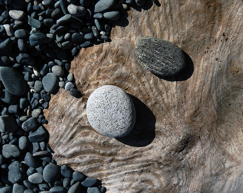 stones at Sandcut Beach