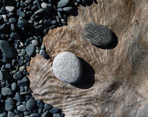 stones at Sandcut Beach