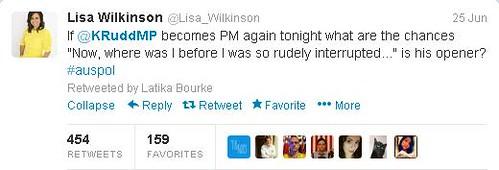 Lisa Wilkinson KRudd