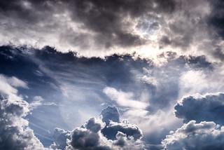Clouds over Oranienburg