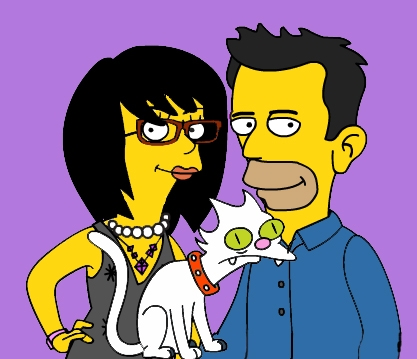 simpsonized family