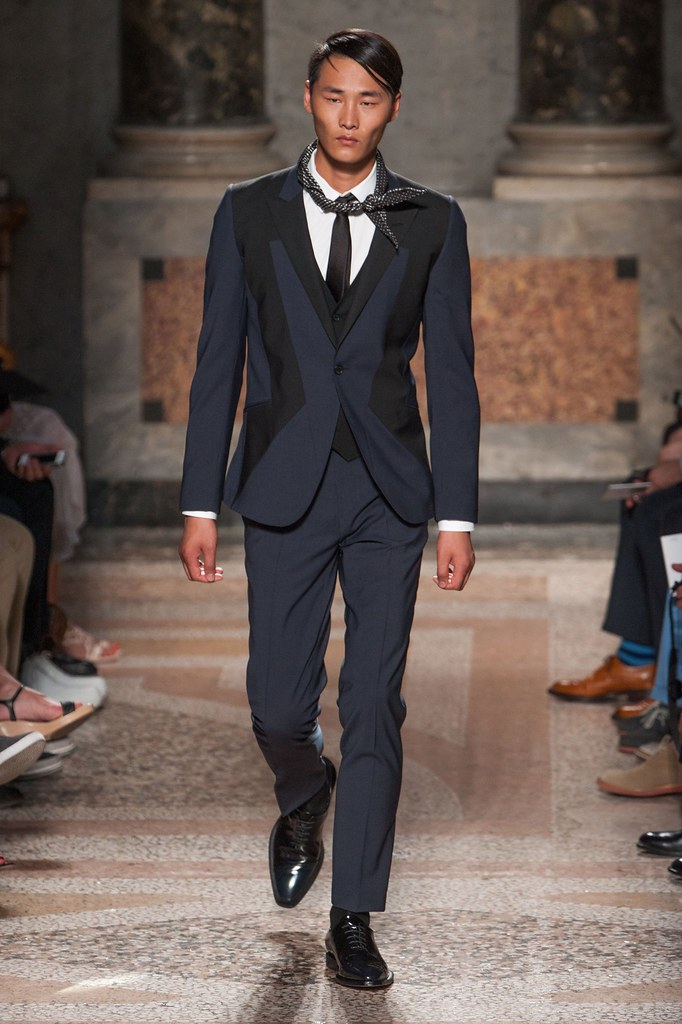 SS14 Milan Les Hommes027_Li Zhen(fashionising.com)