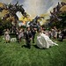 Transformers attack Bridal Party by @jensnink