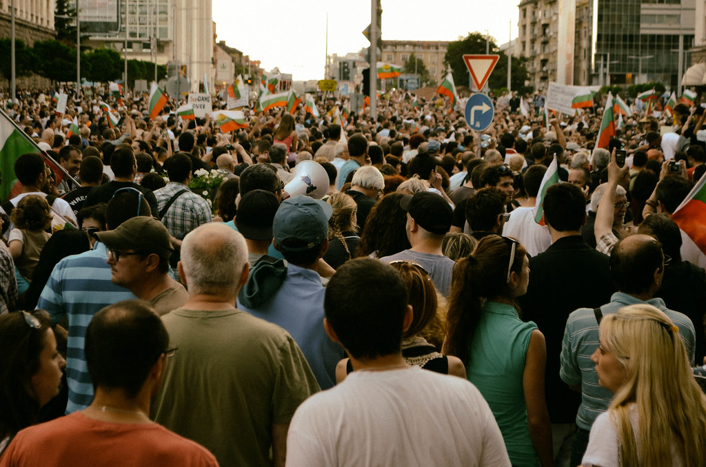 Protests in Sofia, Bulgaria