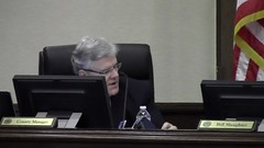Pritchard asks for clarification of minutes