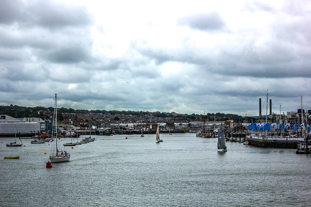 East Cowes en la Isla de Wight