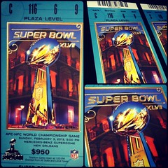 Super bowl tickets 2013