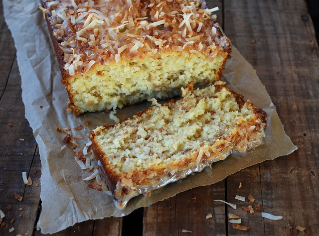 Toasted Coconut Pound Cake 3