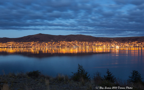 city people lake titicaca night america sunrise lights south images eros purno