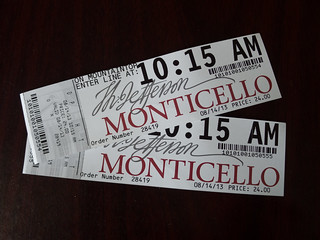 Monticello Tickets