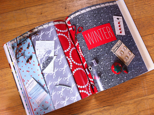 Winter chapter opener from Sewing For All Seasons