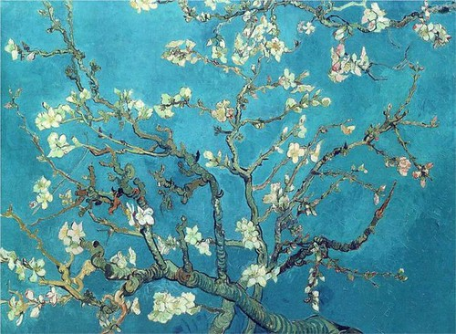 Vincent Van Gogh/ branches with almond blossom (1890)