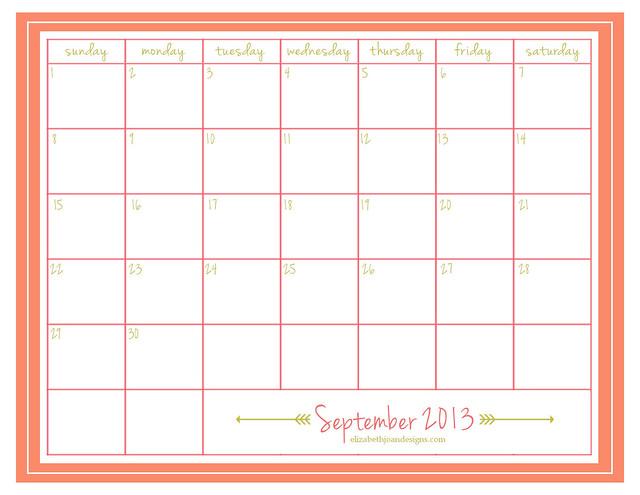 Sept 2013 EJD Calendar