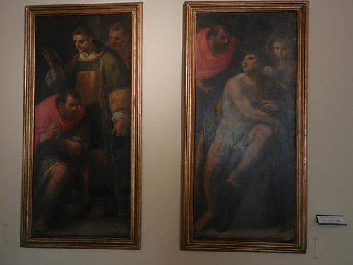 DSCN3827 _ Conversione di san Romano, Battesimo di san Romano, Sebastiano Filippi detto Bastianino