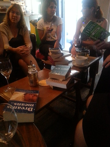 Bookswap at Cafe Konrad, Luxembourg