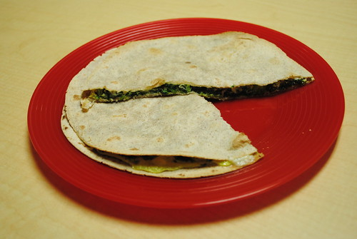Baked Spinach & Cheese Stuffed Tortillas (2)