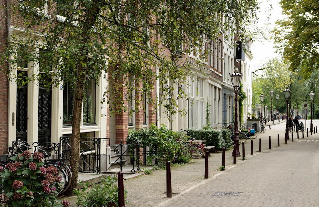 Amsterdam, Street near Haarlemmerdijk