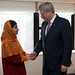 Had the honour of meeting with Malala this morning. Her courage & strength serve as an inspiration to us all.