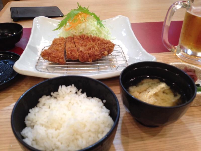 ロースカツ定食 by haruhiko_iyota