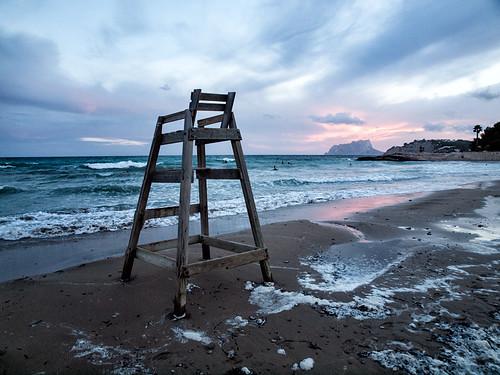 mar mediterraneo playa explore verano olas moraira explored peñondeifach monsalo