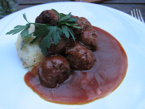 fika - swedish meatballs