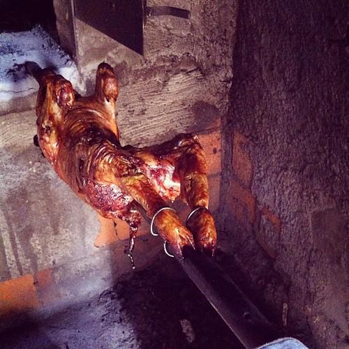 4 kilinhos, baby! Achtung que está quente! #dacozinha #wartour2013