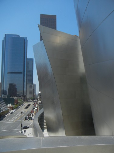 DSCN8599 _ Exterior Detail, Walt Disney Concert Hall, Los Angeles, July 2013