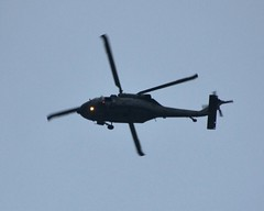 Helicopter Passing Overhead