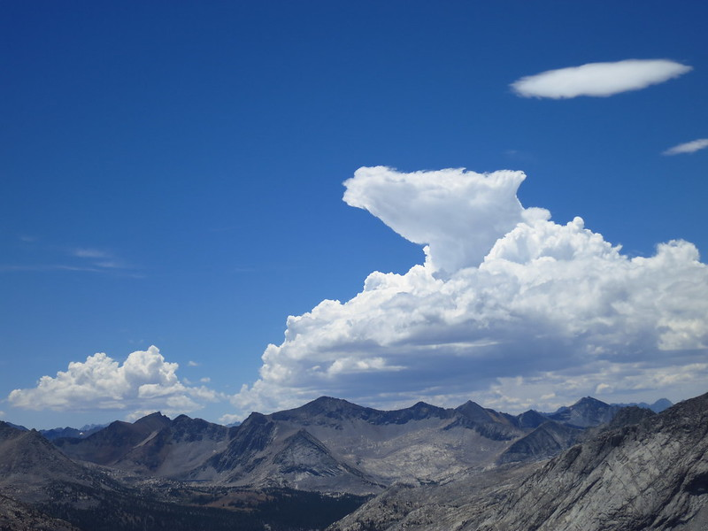 mather pass horse head cloud
