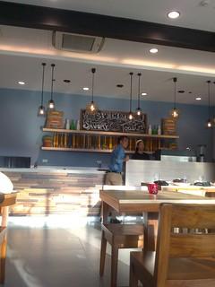 Cafe Shibuya counter