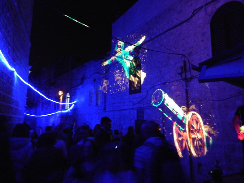 Иерусалим. Фестиваль света