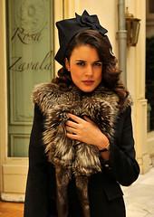 Fall/Winter inspiration, El tiempo entre costuras, tweed ensemble