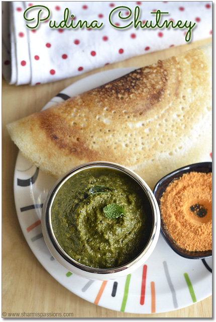 Mint Chutney(without coconut)