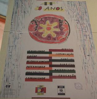Affiche 1997 Portugal 30 ans de Régulation des naissances