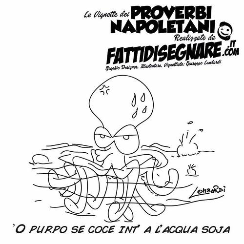 'O purpo se coce int' a l'acqua soja by Giuseppe Lombardi