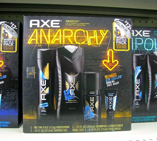 BONUS!  Axe chilled cooling face wash