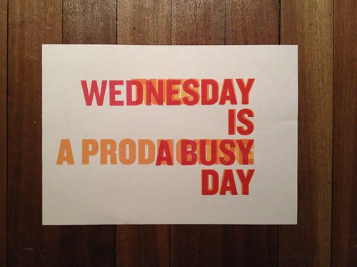Day 47 - Wednesday is a busy day