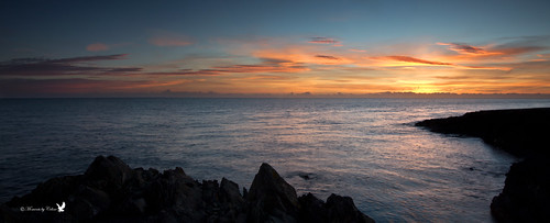 ireland sea sky panorama sun seascape water colors clouds sunrise reflections coast scenery rocks waves colours horizon scenic greystones calm coastline irishsea cowicklow