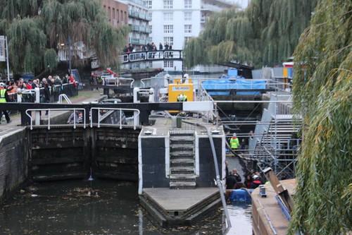 Camden Lock Drainage