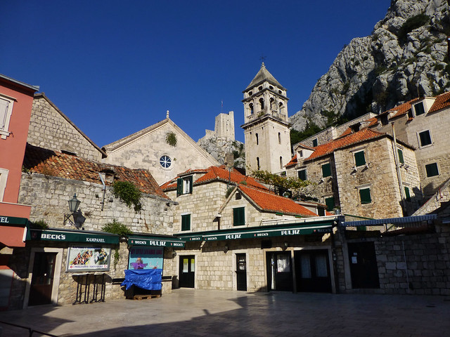 A Croatian coastal town