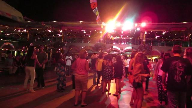 Carnival Splendor Cruise Ship Mexican Fiesta ¡Ándele! Pool