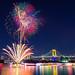 Odaiba Rainbow Fireworks 2013 by 45tmr