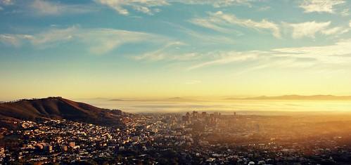 sunlight nature sunshine sunrise landscape southafrica cityscape capetown citylights