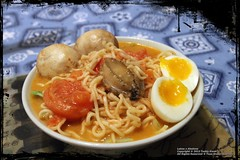 Laksa x Abalone x Soft-boiled Egg