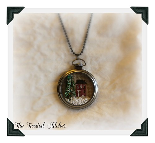Diane's Pocket Watch Necklace