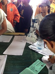 Philippines: Rice seeds distribution check-in
