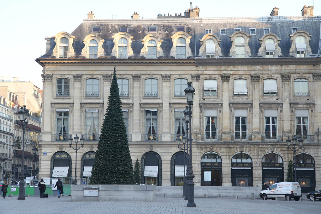 Place Vendôme at Christmas