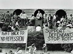 Md Students Rally on Mall: 1972