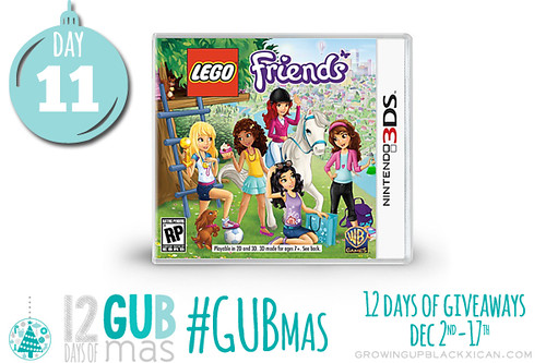 day eleven giveaway_lego friends 3ds giveaway
